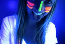 Avahs Glow in the Dark Party