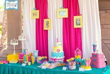Addison's first b day party