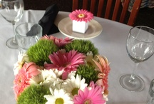 Flowers for Amys Bridal Shower