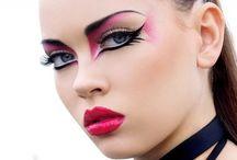 Punk rock style / Maquillaje, vestuario