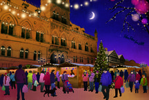 Christmas Markets in Britain / All about the wonderfully festive Christmas Markets that are held in town and city centres in Britain each year