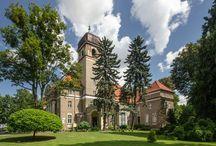 Łosiów - Pałac / Pałac w Łosiowie wzniesiony w XIX wieku prawdopodobnie przez rodzinę Moll z Brzegu. Obecnie w pałacu swoją siedzibę ma Opolski Ośrodek Doradztwa Rolniczego.