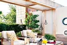 Outdoor Decor Design & Decoration Ideas / Inspiration & Styling tips for home & garden decor from our large range.  We specialise in Indoor to Outdoor living & believe the outdoor + garden is an extension of your home. X Jamie