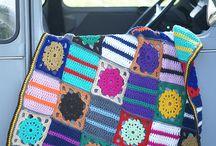 crocheted blankets/afghans / by Sara Rivka Dahan