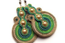 Soutache technique / I just discovered this technique for handmade jewelry and I'm thrilled.... I want them all