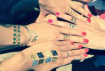 Tattoos and nails
