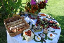 Cheese Boards / A collection of photos from our famous cheese boards, platters, and tables.