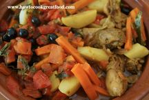 Mediterranean Food / A selection of Mediterranean Dishes