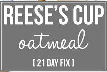 21 day fix - overnight oats