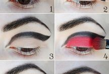 Make-up oči