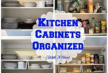 Kitchen Cabinets / New Kitchen Cabinets / by Cindy Freeman