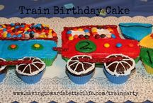 Train Birthday Party / Train themed birthday party ideas / by Saving Toward A Better Life