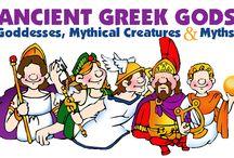 Greek Mythology / by Angela Heam