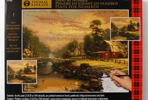 Crafts / Crafts featuring the artwork of Thomas Kinkade