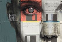 Recycled Art - Nick Gentry / Yesterday's Technology ... Today's Art!