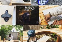 The Corner Cottage Journal: Making Your Own Big Green Egg Table