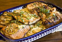 Seafood Recipes / by Kayla Eilmas