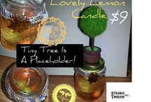 Candles / Crazy Candles By Strange Threads Etc... / by Strange Threads Etc