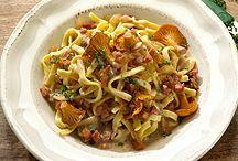 Mushrooms - Meals w/ Pasta