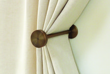 Hold backs, tie backs for curtains / Interiors, drapery hold backs, ombres, tie backs, curtain hold back, holdback, tieback. Designer luxury curtain poles, rings brackets, curtain pole finials, tracks curtain rods, curtain clips, hold backs, draw rods. 19mm, 30mm, 50mm diameter curtain poles.