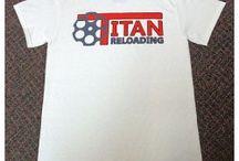 TITAN LOGO T-SHIRTS / Titan Logo T-Shirts for sale at http://www.titanreloading.com/titan-logo-tshirts