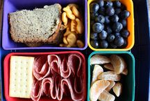 Kid Food Ideas / Always looking for ways to make fun healthy meals and snacks for my kids.
