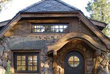 mountains cottage