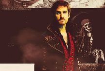 Hook and Captain Swan