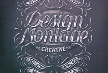 Lettering / by Michel Cox