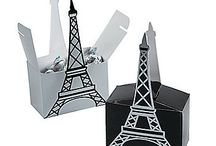 WIEŻA EIFFLA / wieża Eiffla i inne miasta, szablony, torty i in.