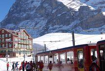 Eiger, Jungfrau etc