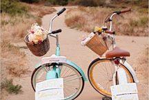 charette et bicyclette