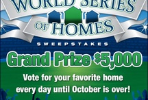 Just For Fun / World Series Sweepstakes!  Vote for your favorite home and you might win $5,000. / by Lennar Virginia