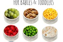 Baby finger foods / by Valerie Downs