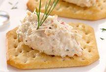 tartines de crabe