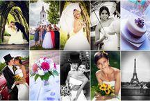 svatební foto / koláže svatebních fotografií za sézónu 2015