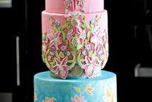 kebaya batik cake
