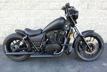 Honda rebel / Inspiration til look af motorcykel