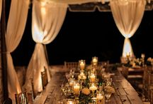 Wedding decorations and lights