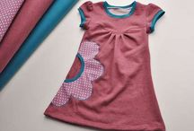 Kids tees and tunics and dresses