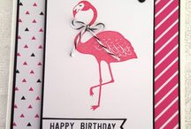 Stampin' Up! DSP - Pop of Pink (Retired) / A board focusing on Pop of Pink DSP by Stampin' Up!