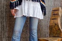 Crochet Ponchos y Chales