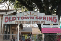 Old Town Spring / Old Town Spring is a jewel nestled north of Houston.  Fun for the whole family.