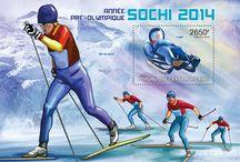 Special offer | Sochi 2014 winter sports games / Sochi 2014 winter sports games theme postage stamps
