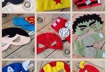 festa supereroi