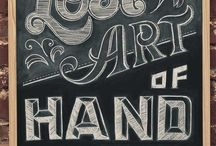 Hand Lettering / by Stephanie Dunn
