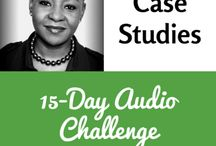 15-Day Audio Challenge Interview Series / These are interviews that highlight the benefits challengers found from taking part.