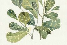 나뭇잎액자