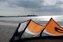 Workum, het Strand / Een mooie plek om te wandelen, zonnen, surfen en te spelen!