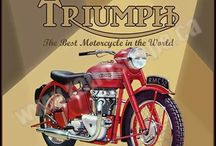 Motorcycle posters, adverts and brochures / Motorcycle posters, adverts and brochures